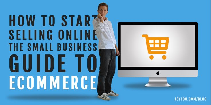 The beginner's guide to selling online - answering all the most important eCommerce questions. #prestashop #woocommerce #shopify #magento