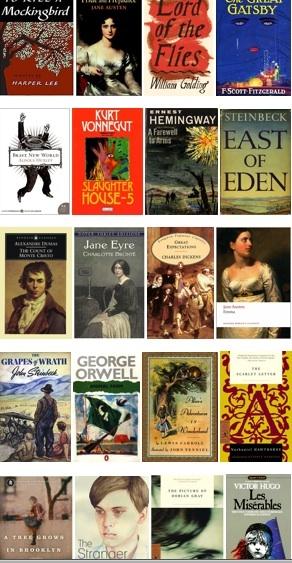Top 40 Classics You Should Have Read in School (Half Price Books staff picks) // blog.hpb.com
