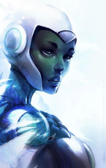Aya - Green Lantern: The Animated Series