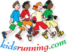 kidsrunning.com - a website presented by Runner's World. I'm thinking of incorporating this into our homeschool P.E. program. I'm doing Couch to 5K and I know my daughter can do it with me. Can't start too young with the exercise, right?