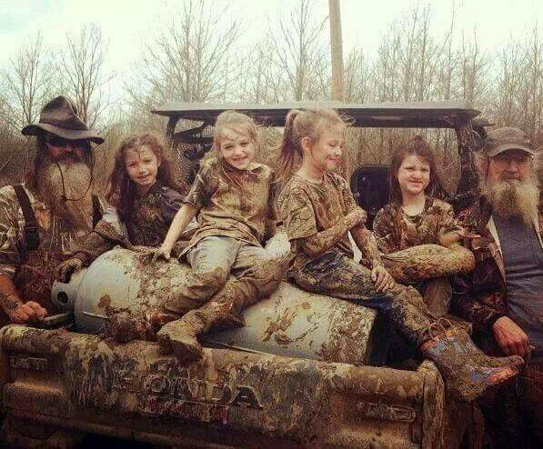 *This is how kids should have fun! Photo by Duck Dynasty Fans*