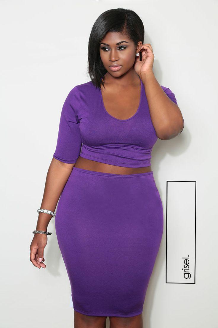 Plus size piece 2 dresses bodycon long