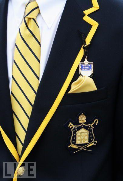 Henley Royal Regatta blazer - I need a guy wearing one.