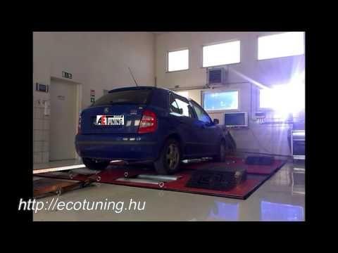Skoda Fabia 1.9TDI 100LE AET CHIPtuning Referencia Videó