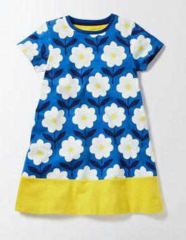 Flowery Jersey Dress Boden
