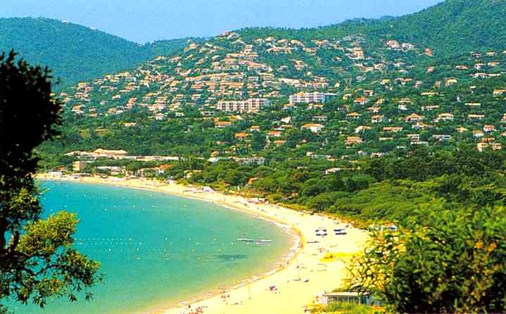 Cavalaire sur Mer Bay, French Riviera