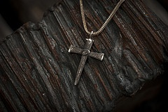 Nailed CrossMale Jewelry, Crosses Creations, Diy Jewelry, Nails Crosses, Design Nails, Dark Jewelry
