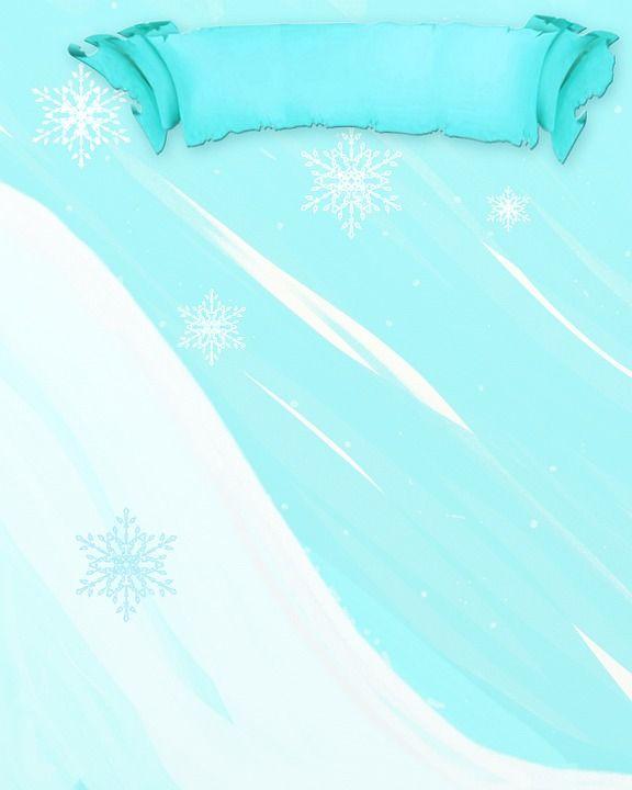 Zima, Sportów Zimowych, Tło, Baner, Niebieski