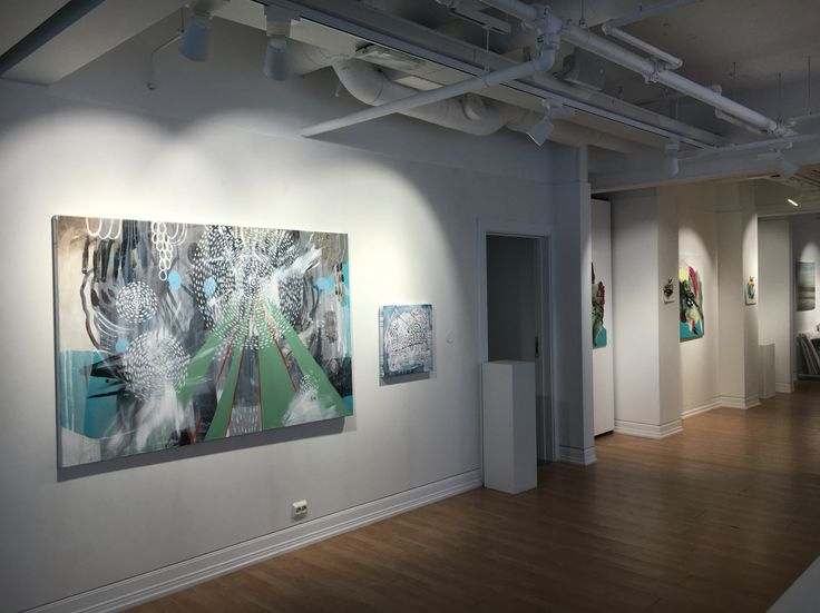 Norwegian painter Kristin Jensen Romberg. From exhibition in Tromsø Gallery Nord. http://www.kristinromberg.com/