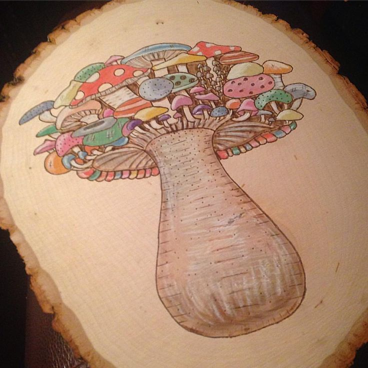 Mushrooms on mushrooms on mushrooms  can't wait to burn and paint this one #fungus #mushrooms #nature #shrooms #mushroom #handmade #etsy #etsyshop #etsyseller #wood #plants #sketch #bohemian #boho #botanical #hippie #hippiechic #ohwowyes