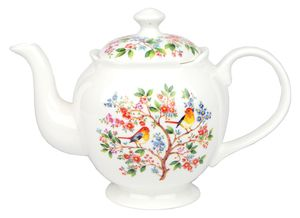 Ashdene Tree Of Life Teapot - With Metal Infuser