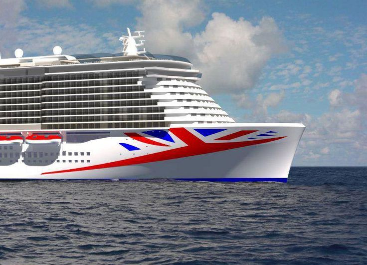 The new vessel will be the biggest ever built for the British cruise market