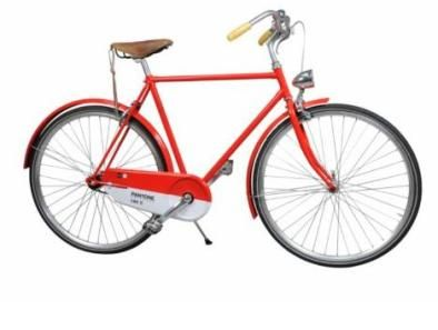 I have to have this bike in my most favorite hue ever - Pantone 186C!