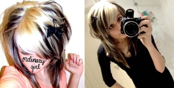 hairstyle. wonderful highlights