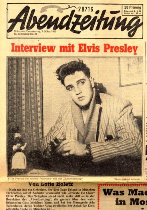 Elvis in Germany 1959