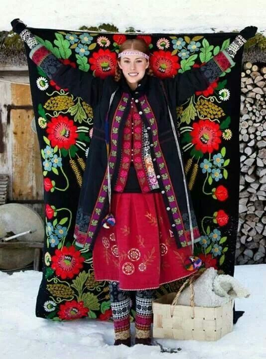 Inspiration! from Gudrun Sjoden, Swedish designer.