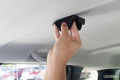 How to Clean a Car Ceiling - Your car's ceiling, also known as the headliner, can become dirty over a period of time as a result of our hands, hair, skin, and other objects coming into contact with the ceiling. Since the fabric of your car's ceiling is glued to the roof, you should be sure to use safe cleaning methods and products that will keep the glue and laminate intact.