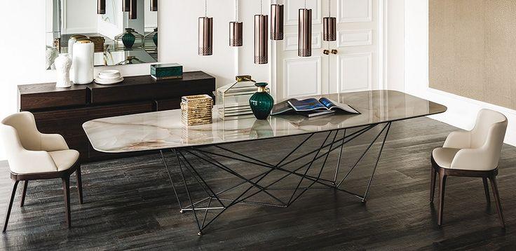 Gordon Keramik table by Cattelan