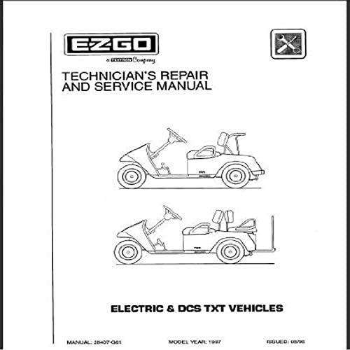 Buy EZGO 28407G01 1997-1998 Technician's Service Repair