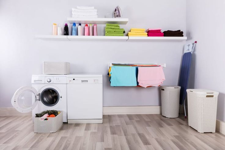 32 Modern Minimalist Laundry Room Designs