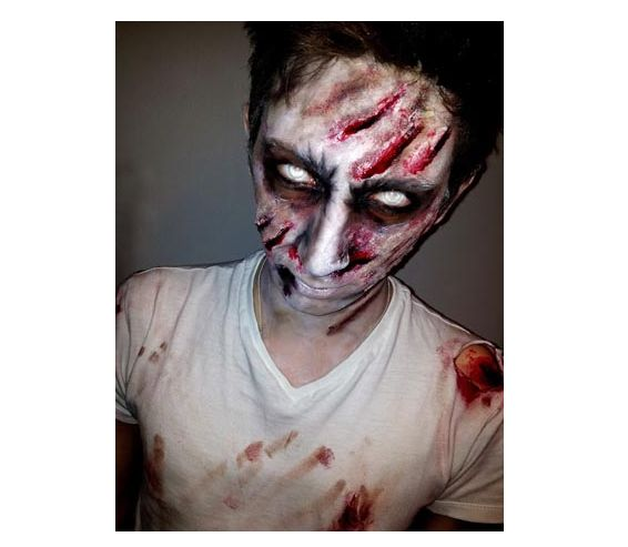 23 examples of scary halloween makeup ideas