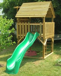 climber playhouse plans