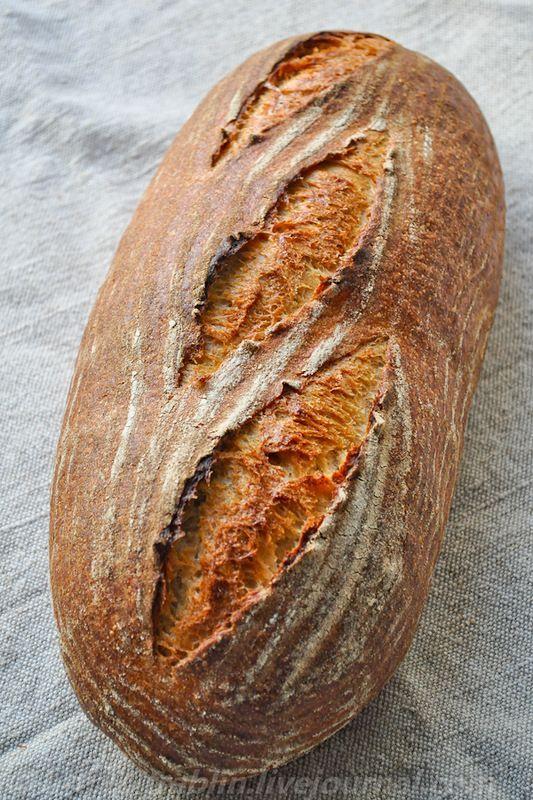 Заварной пшеничный хлеб на закваске - Записки кулинарного озорника