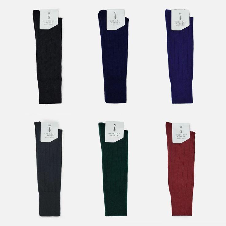 American Trench Socks - Sharp - 6 pack