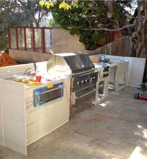 Outdoor Kitchen Plans Free: 17 Best Ideas About Outdoor Kitchen Plans On Pinterest