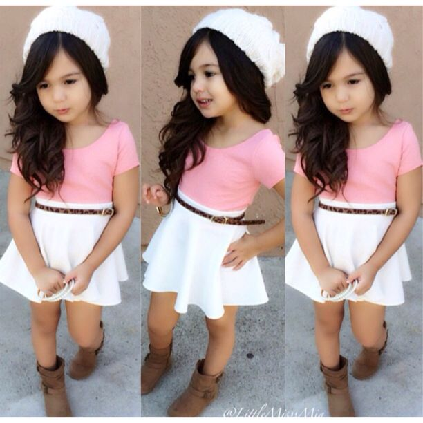 Love this outfit for a little girl