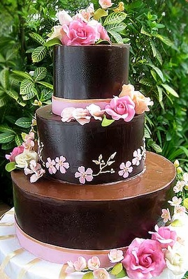 Cake Artist Judy Uson : 17 Best images about Wedding Cake, Chocolate & Brown Cakes ...