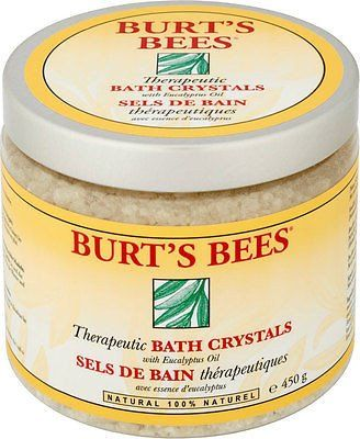 Burt's Bees Therapeutic Bath Crystals (450g)