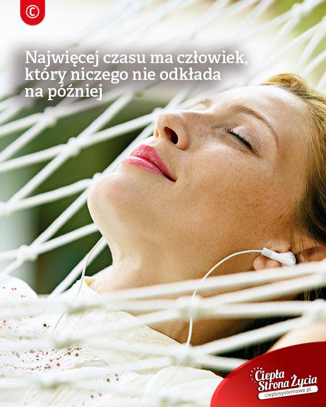 Jaki jest doskonały sposób na mnóstwo czasu dla siebie i głowę wolną od niekończących się planów i listy rzeczy do zrobienia, które nawet w tracie odpoczynku nie dają nam spokoju? Niczego nie odkładajcie na później. Jeśli macie coś do zrobienia zróbcie to od razu, żeby w trakcie odpoczynku móc pozwolić sobie na pełen relaks, który doładuje Was energią! Wtedy odpoczniecie bezstresowo i nabierzecie sił na kolejny dzień pełen wyzwań. Ejnoy!