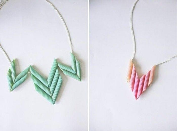 peindre-des-pates-et-les-transformer-en-un-pendentif-idee-collier-meilleure-amie-idée-cadeau-pour-sa-meilleure-amie-a-faire-soi-meme