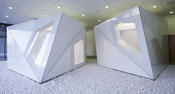 Groundbreaking meeting rooms designed with DreamGlass®, Spain. DreamGlass® panels allow users to have privacy at the touch of a switch when negotiations are in place.