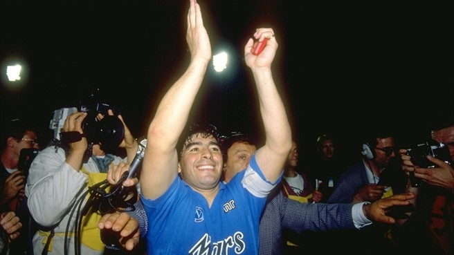 SSC Napoli... and Diego Armando....
