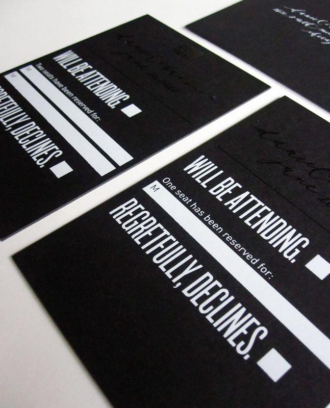 Black-White-Modern-Wedding-Invitation: White Foil, Beautiful Paper, Modern Wedding, Modern Foil, Black And White, Weddings, Wedding Invitations, Invitations Ideas, Foil Stamps