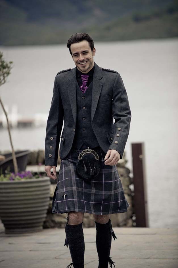 Spirit of Lochearn kilt outfit (to hire from £90, also available made-to-measure), by Kilts4U. Image by Chris Blott.
