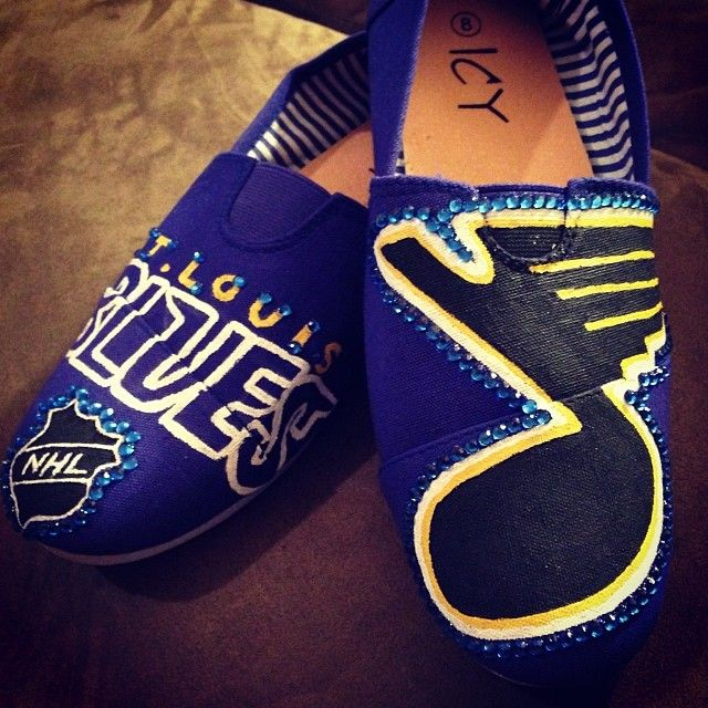 St Louis Blues Toms Shoes
