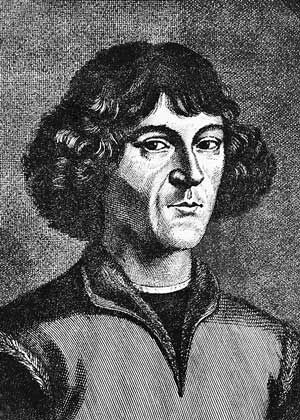 Nicolaus Copernicus (19 February 1473 – 24 May 1543) was a Renaissance astronomer and the first person to formulate a comprehensive heliocentric cosmology which displaced the Earth from the center of the universe. Copernicus' epochal book, De revolutionibus orbium coelestium (On the Revolutions of the Celestial Spheres), published just before his death in 1543, is often regarded as the starting point of modern astronomy and the defining epiphany that began the scientific revolution.