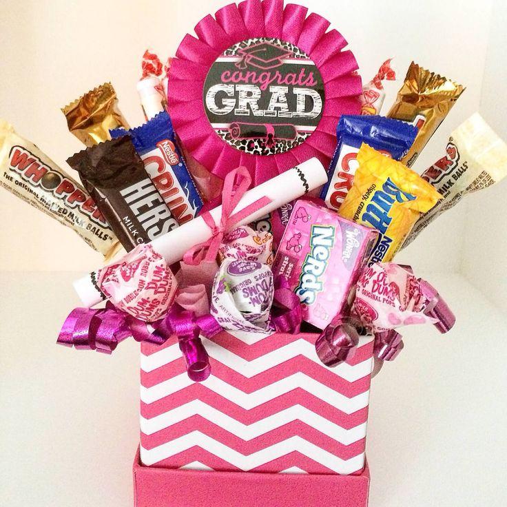 Best graduation gift baskets ideas on pinterest