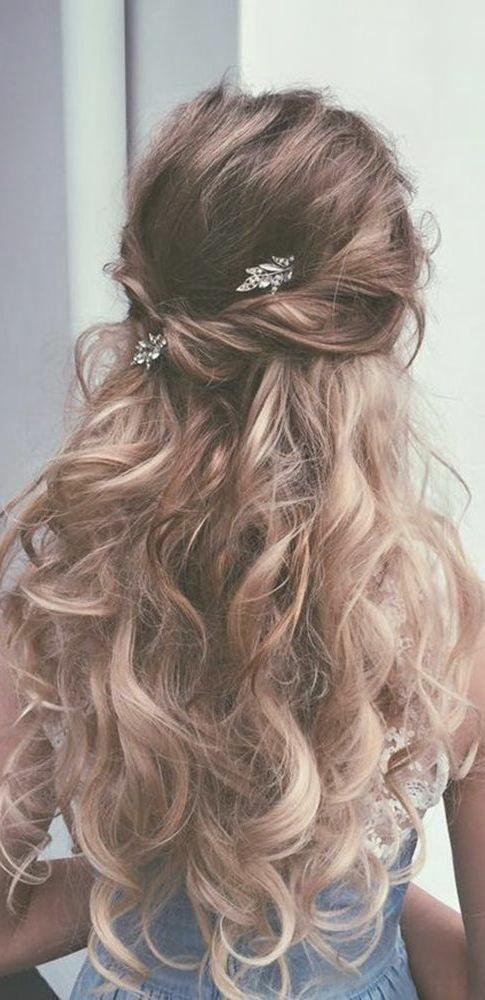 Die Besten Hochzeit Frisuren Lange Haare Ideen Auf Pinterest ...