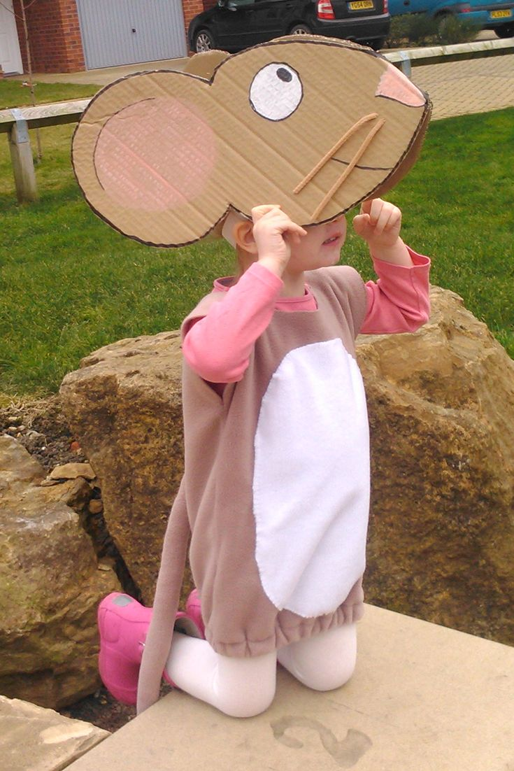 Costume idea for World Book Day on March 2 - the Big Bad Mouse from The Gruffalo.
