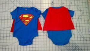 DIY Superhero Costume : DIY : Baby Superhero Cape  : DIY Halloween