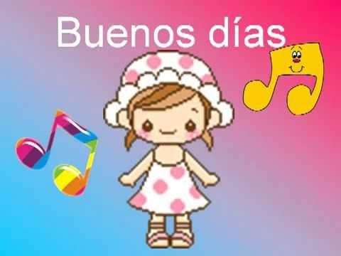 ▶ Buenos días (Canción Infantil Pegadiza) - YouTube