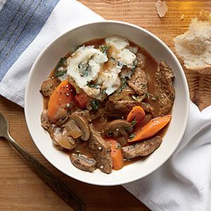Hearty Beef And Stout Stew Cookinglight Com Myplate Protein