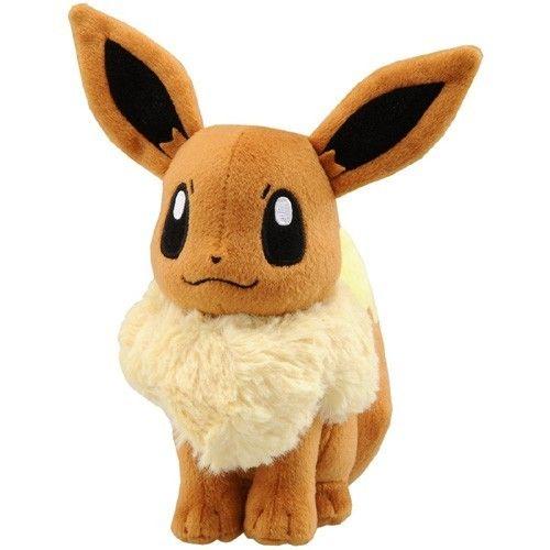 "So much WANT! New Japan Takara Tomy Pokemon 7"" Soft Plush Toys Doll N-42 Eevee | eBay"