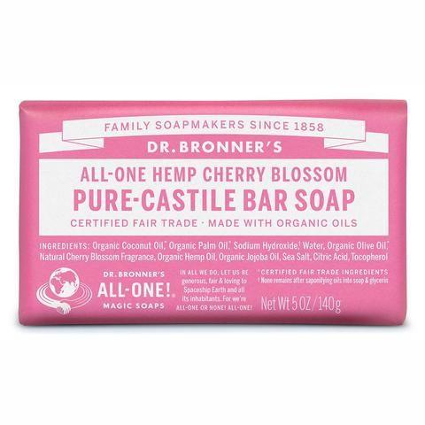 Dr Bronners - Cherry Blossom Soap Bar