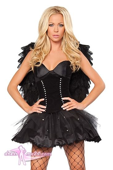 21 best images about kost me f r fasching engel on pinterest sexy dark angels and angel dress. Black Bedroom Furniture Sets. Home Design Ideas