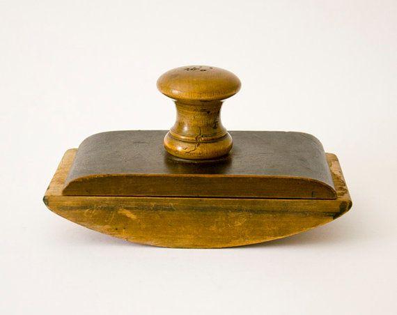 Vintage ink blotter Spanish wooden by ilivevintage on Etsy, $50.00